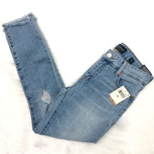 Lucky Brand Ava Cropped Midrise Jeans Size 25